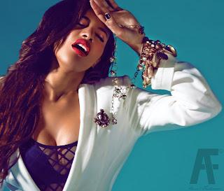 Ade Smilez Heavenly images: Amal Fashanu behind the scenes
