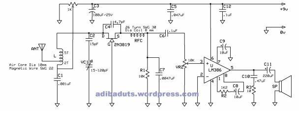 Marom rangkaian penerima radio fm sederhana rangkaian radio fm marom rangkaian penerima radio fm sederhana rangkaian radio fm transistor sederhana ccuart Image collections
