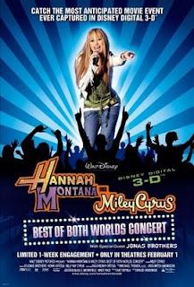 Hannah Montana in 3-D