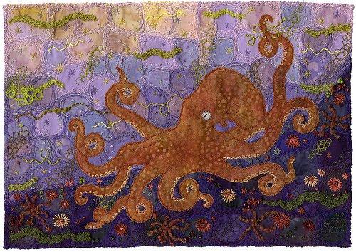 Kirsten Chursinoff Shiva Paint Sticks Giant Pacific Octopus