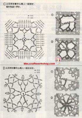 Como Unir Motivos De Crochet
