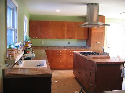 Ikea Brown Kitchen