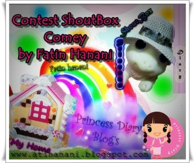Contest Shoutbox Comey by Fatin Hanani