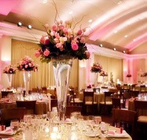 Forever Wedding: Pink Wedding Ceremony Decorations