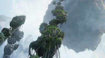 Hallelujah Mountains, Pandora, from James Cameron's Avatar