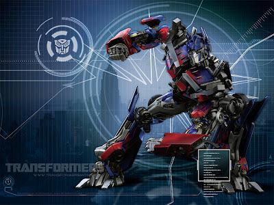 transformers 3 the movie wallpaper. Transformers movie: Optimus