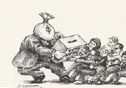 Politik Uang Demi Demokrasi