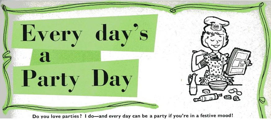 Today is a party day...