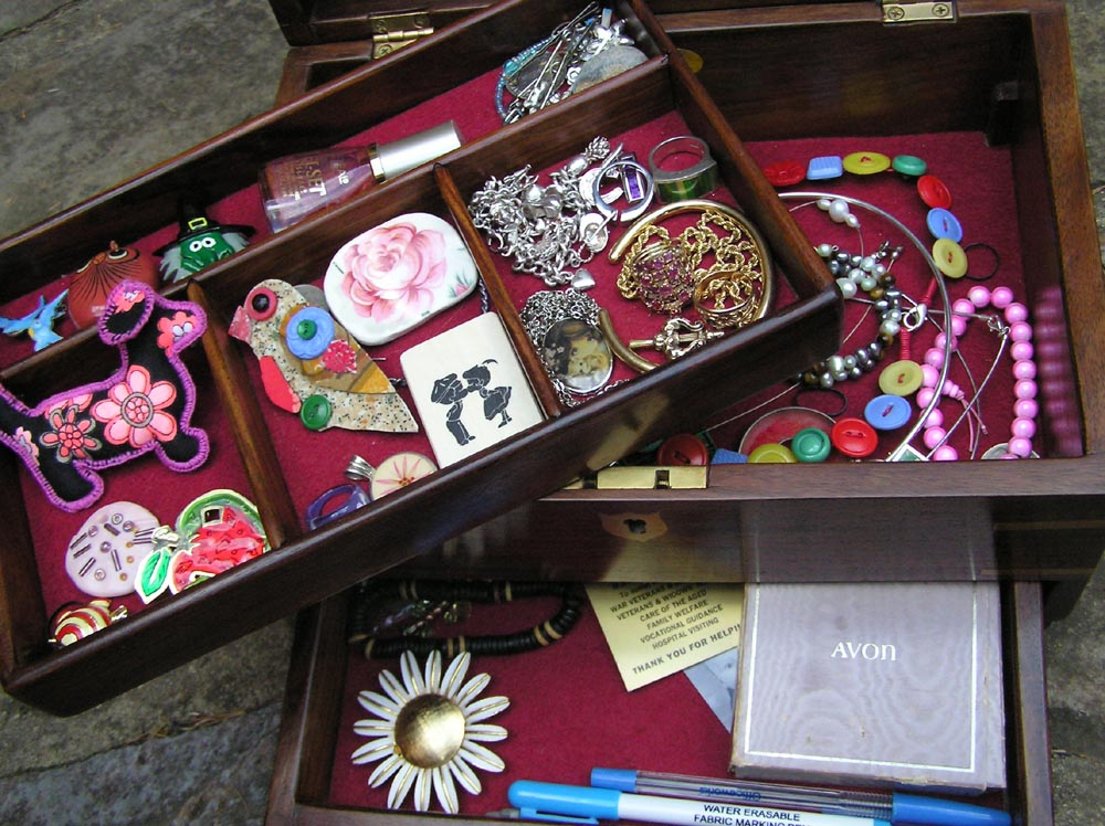 This is...my knick knack/jewellery box