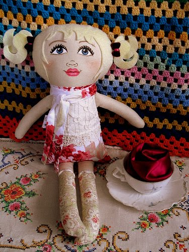 Handpainted dolls...