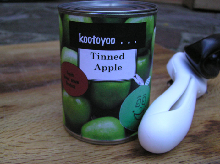 Tinned Apple...