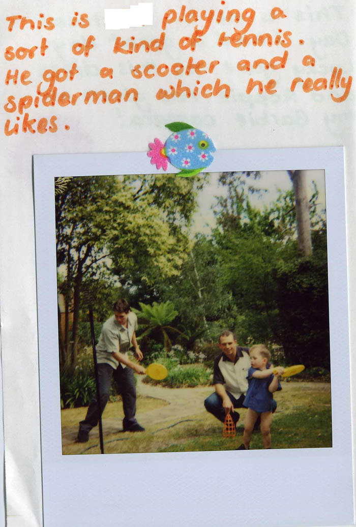 Polaroid Diary of a small child [img 03] ...
