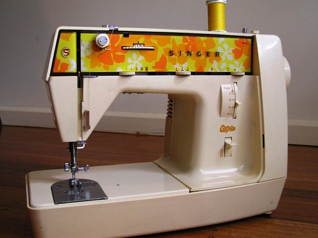 The best sewing machine in the whole world...