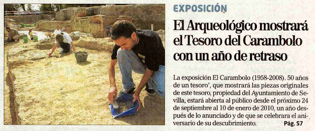 """[2009+07+26+EL+MUNDO+EL+ARQUEOLÃ""""GICO+MOSTRARÃ +EL+TESORO+DEL+CARAMBOLO+CON+UN+AÃ'O+DE+RETRASO.jpg]"""