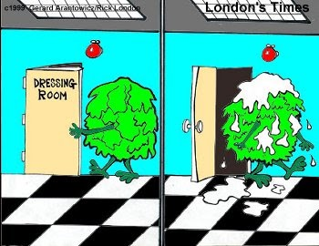 Londons Times Offbeat Cartoons Salad Dressing Room Food Or Clothing Cartoon