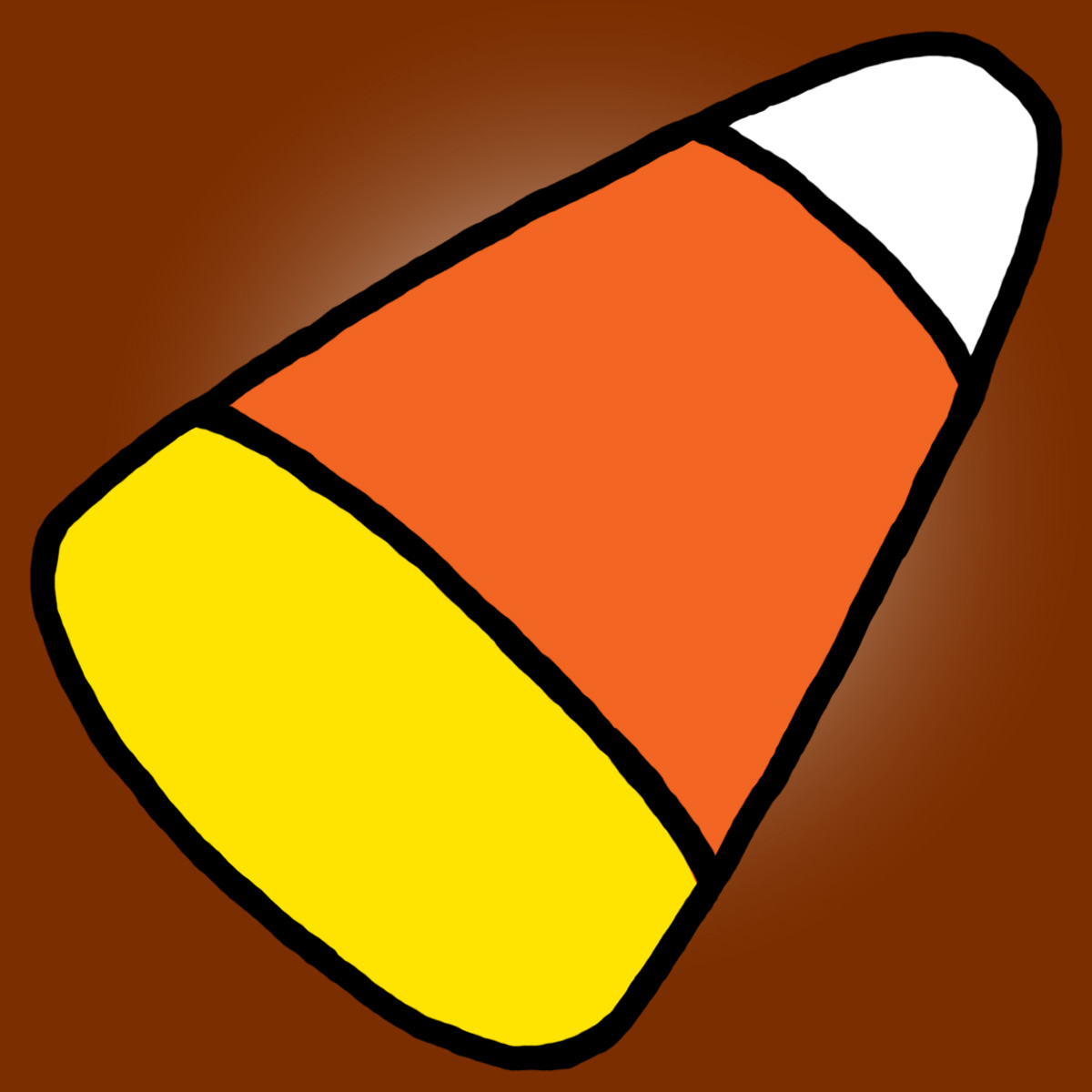 candy corn coloring page coloring pages gallery