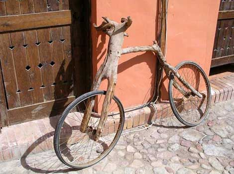 The best invention for an old bicycle