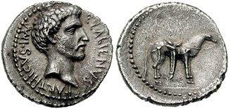 denario de Quinto Labieno