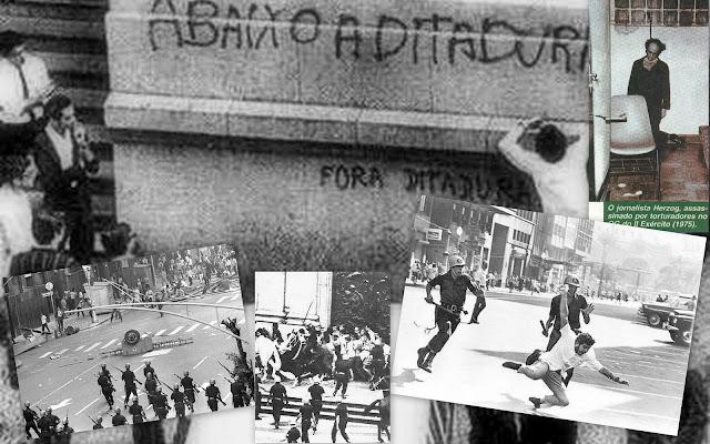 Resultado de imagem para abaixo a ditadura