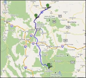 Fivipedoy Yellowstone Map Usa