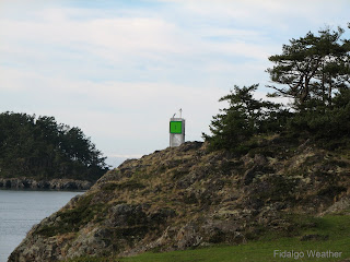 The 'lighthouse' at Lighthouse Point