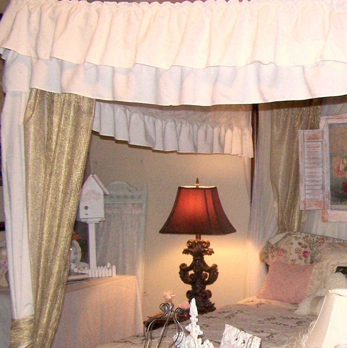 Shabby Chic Bedroom Before And After: Olivia's Romantic Home: Romantic Shabby Bedroom