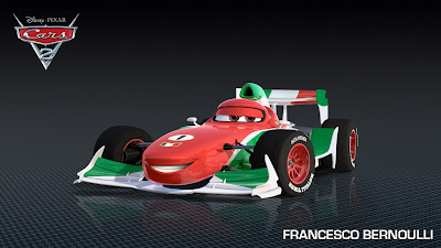 Francesco Bernoulli - Cars 2 Película