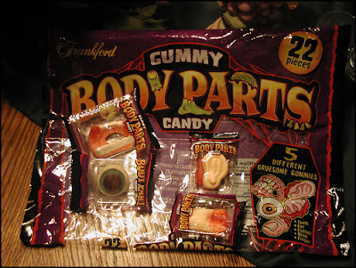 gummy body parts bag
