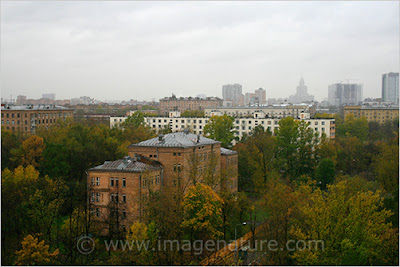 Autumn (fall) in Moscow, Russia