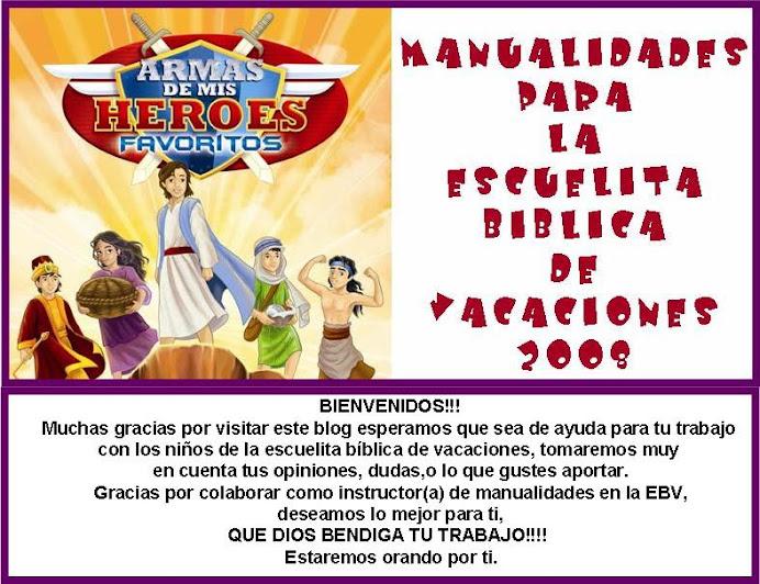 Manualidades EBV 2008
