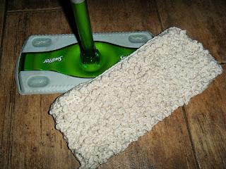 Crunchy Crochet Swiffer Sweeper Cloth Crochet Pattern