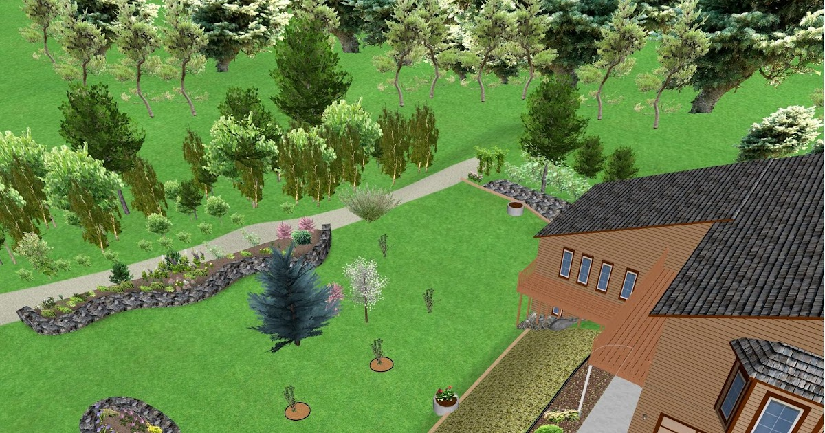 Northern exposure gardening 3d virtual garden design the for Virtual garden design