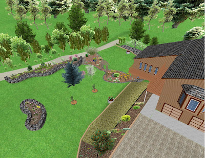 Northern Exposure Gardening: 3D Virtual Garden Design: The