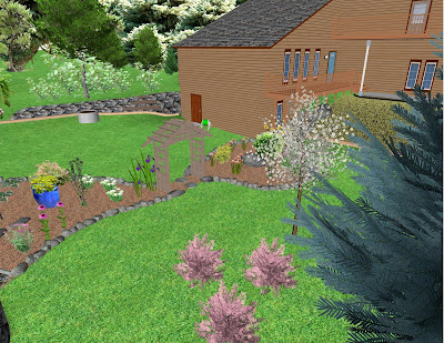 Northern Exposure Gardening 3D Virtual Garden Design The