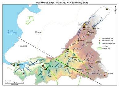 Adventures In The Mara Journey Down The Mara - Kenya rivers map