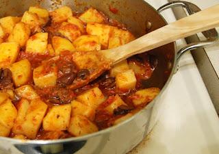 Critical Mastication: Greek Potato Stew