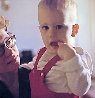 Pat Sasser with Jimbo circa 1965