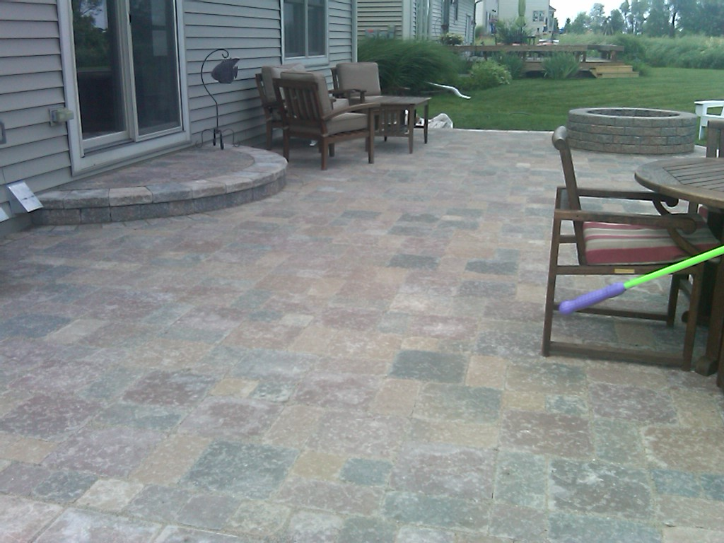 How to clean patio pavers patio design ideas for Paver patio ideas pictures