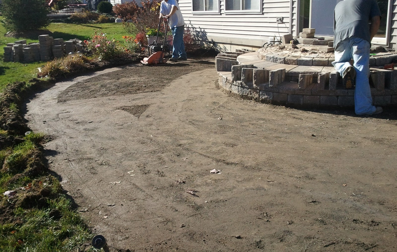 Paving stone patio ideas. this entry was posted in bean renovation ...