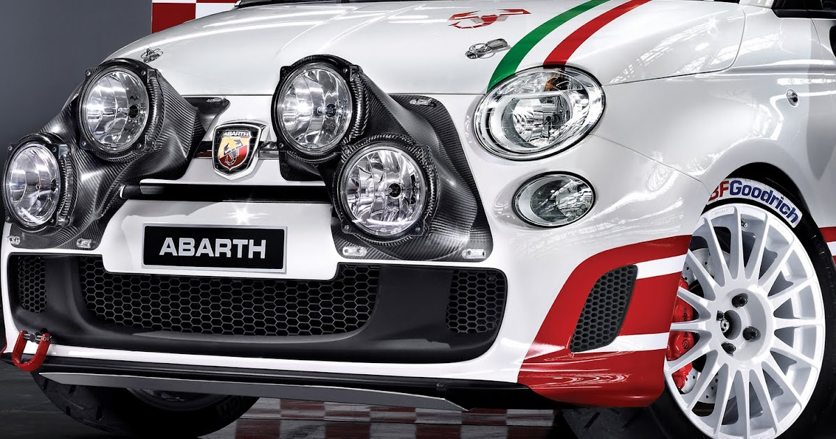 The Abarth 500 R3t Rally Version Of The Fiat 500 Abarth Fiat 500 Usa
