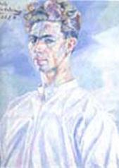 Retrato de Benjamin Palencia