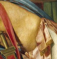Detalle de La muerte de Viriato, de Madrazo