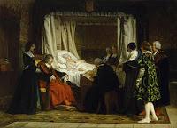 Doña Isabel la Católica dictando su testamento, de Rosales