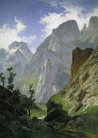 La canal de Mancorbo en los Picos de Europa, de Carlos de Haes