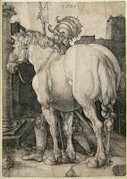 El gran caballo, de Durero