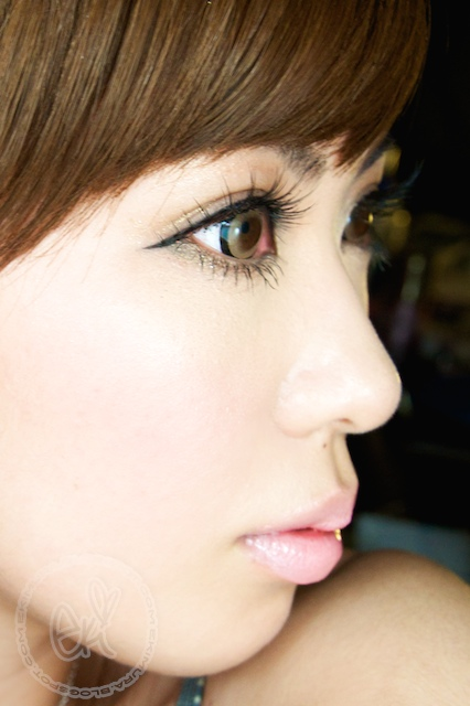 ekiBlog com: Dolly Wink No 3 Natural Girly lash review FOTD