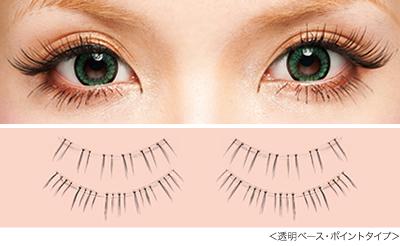 ekiBlog.com: Dolly Wink No.8 Straight point false eyelashes