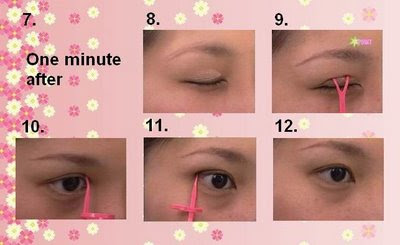 double eyelids glue how to use