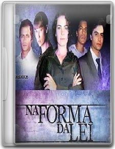Capa Na Forma da Lei   1ª Temporada Completa   HDTV