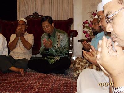 Bacaan doa oleh DS Nizar